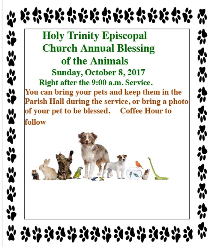 HTC Blessing of the animals 2016.docx